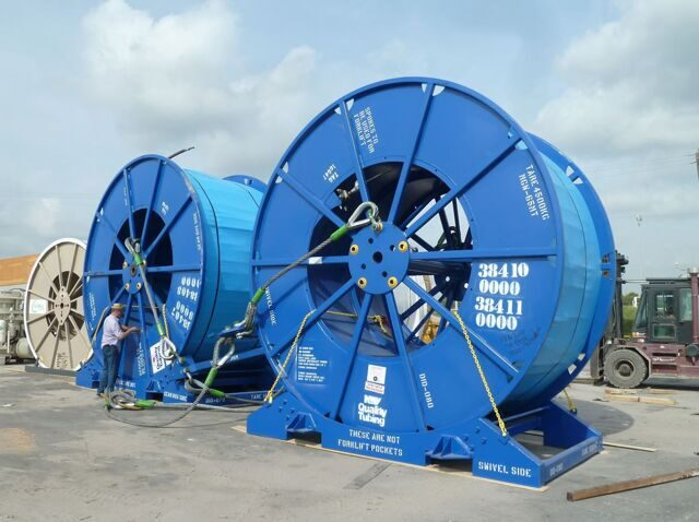 Coiled tubing reels to Karadag